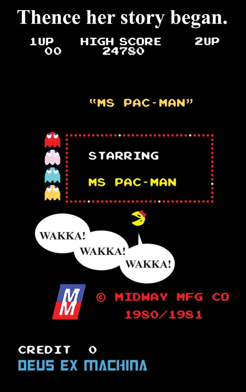 MS PACMAN BEGINS 05