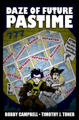 DAZE OF FUTURE PASTIME (COVER)