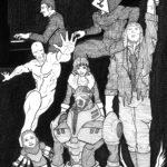 Agnosis! Dramatis Personae - ORIGINAL ART