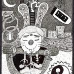 Happy Pookha - ORIGINAL ART